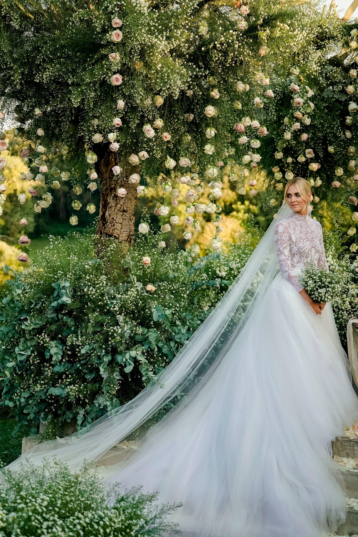 eb44f64841e6 Chiara Ferragni s Wedding Dresses Explained