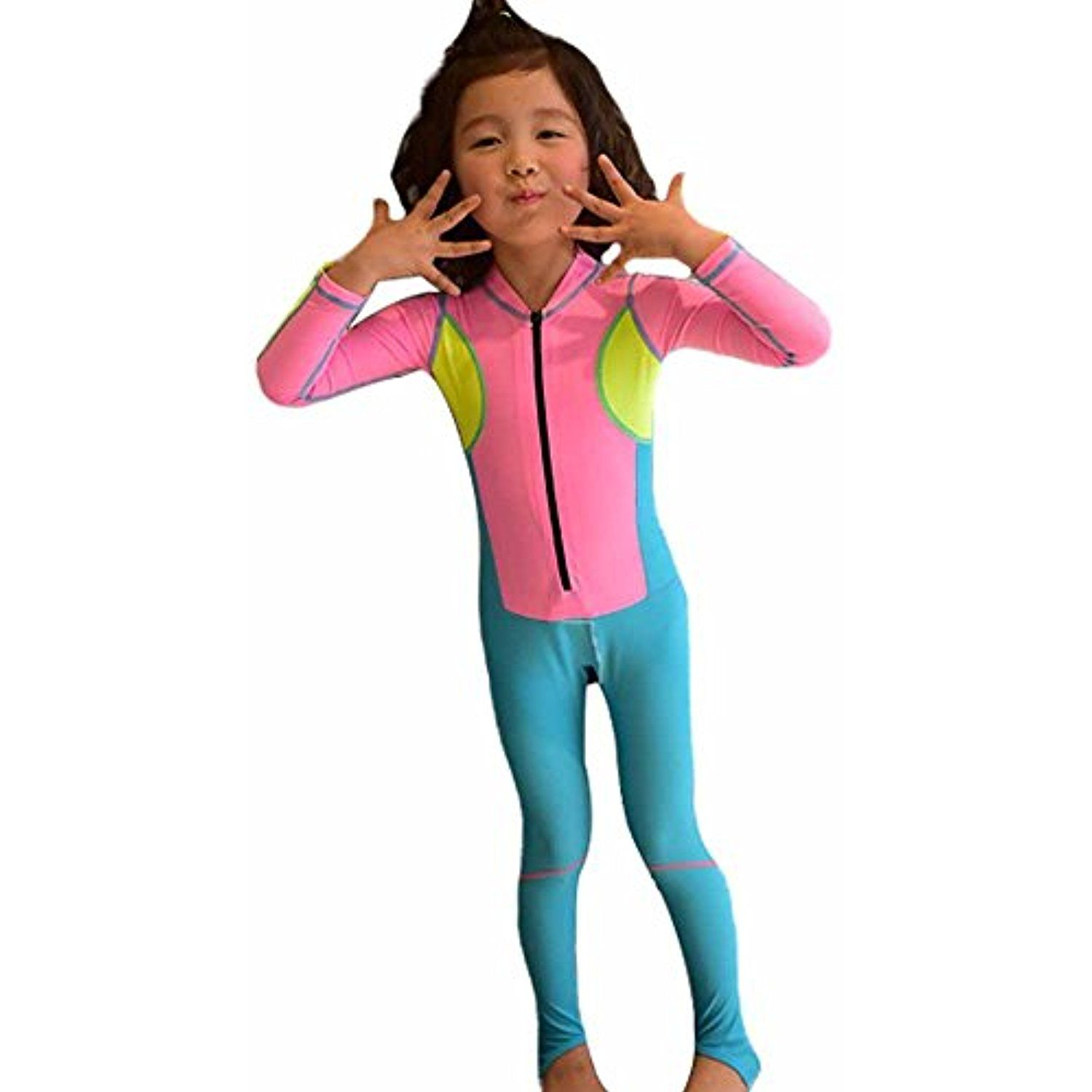 7dc7e3a1ff C360 Girls Boys Sports Long Sleeve Swimsuit One-piece Swimwear Kids  Swimming Suit Professional Swimwear >>> Details can be found by clicking on  the image.