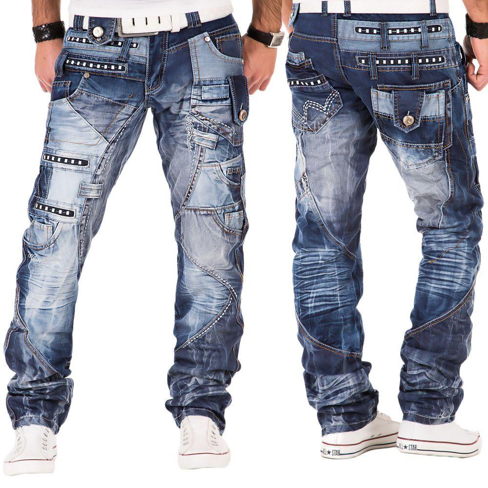 Jeans Hose Herrenjeans Jeanshose Vintage Pants Chino Slim Fit Herren