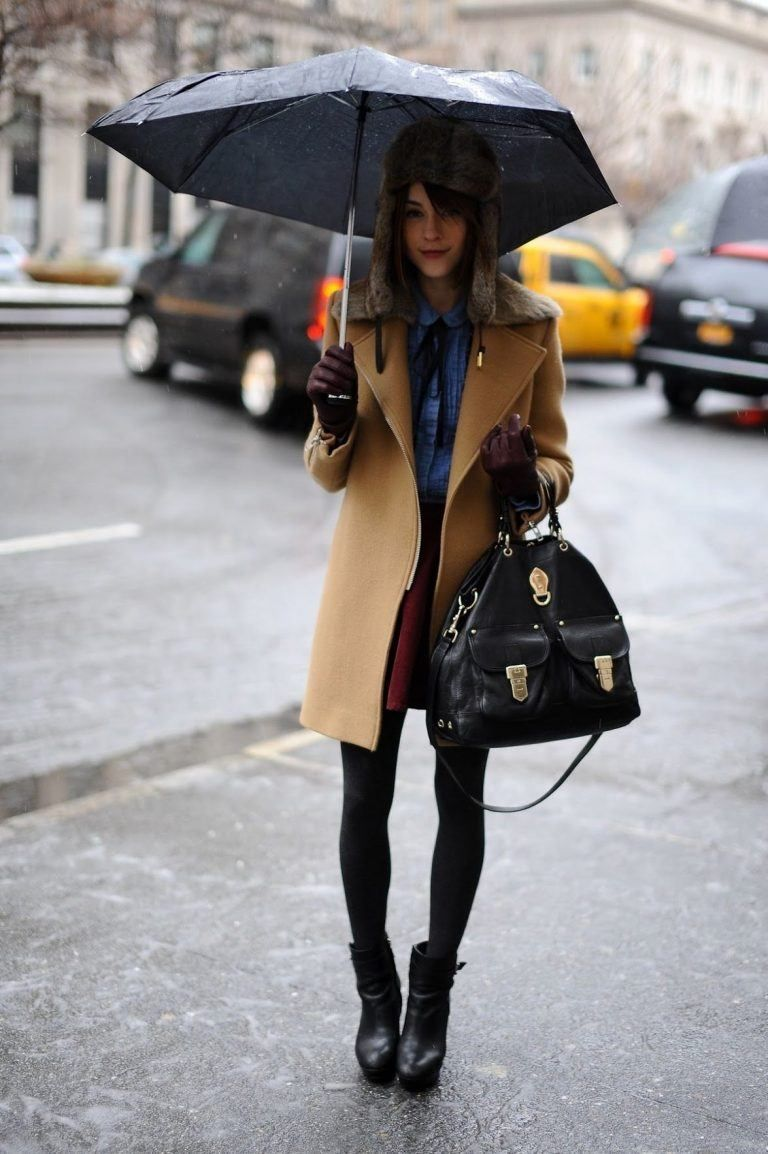 20 Outfit Ideas on What to Wear to Work When It's Raining #rainydayoutfitforwork