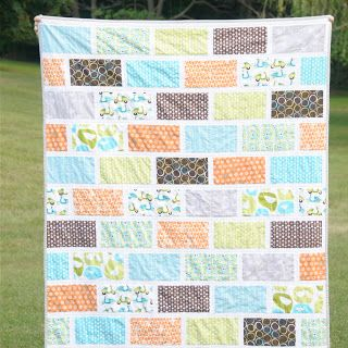 Color Brick quilt... beginners project. Has link to instructions ... : brick quilt - Adamdwight.com