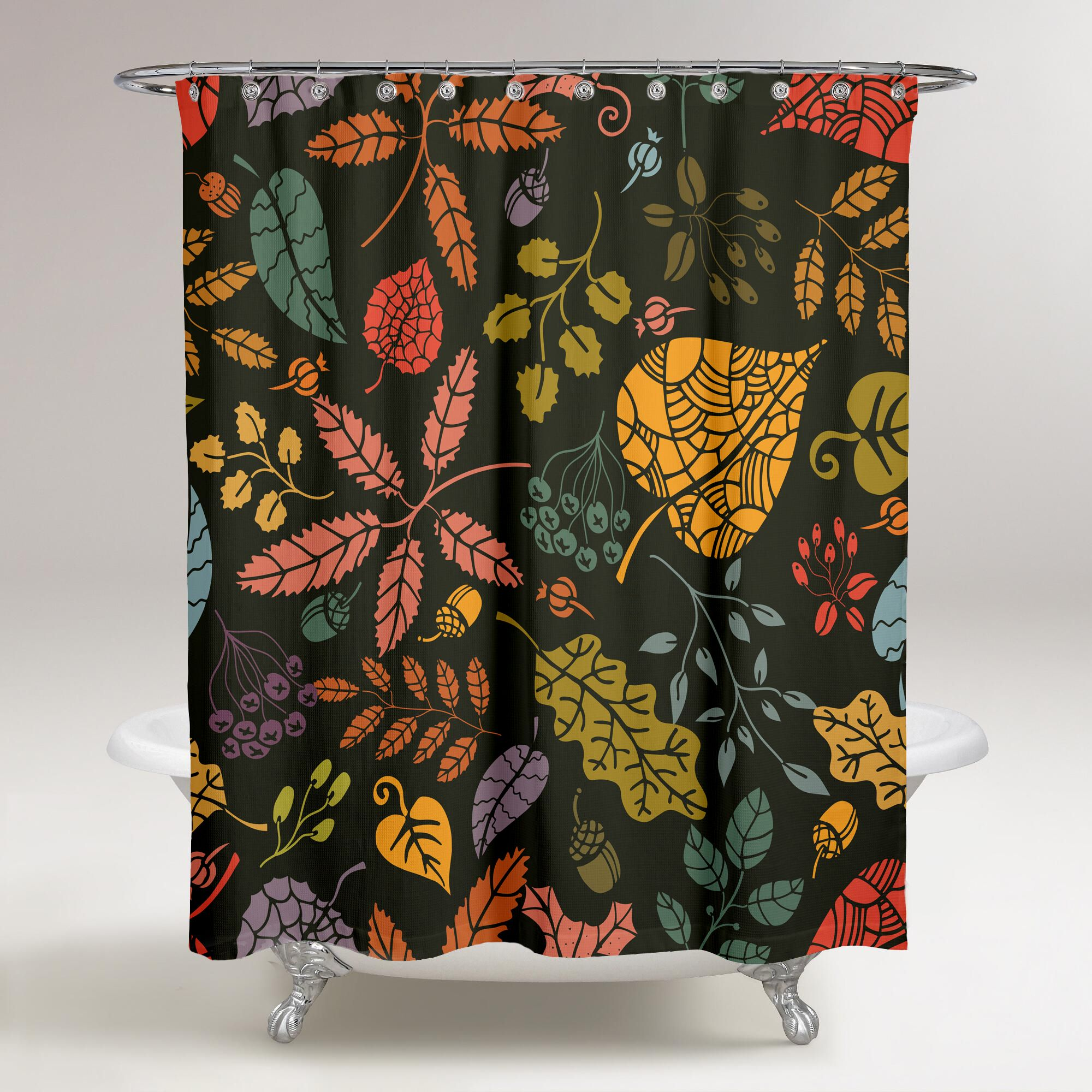 Set the theme of bathroom with a personalized shower curtain each