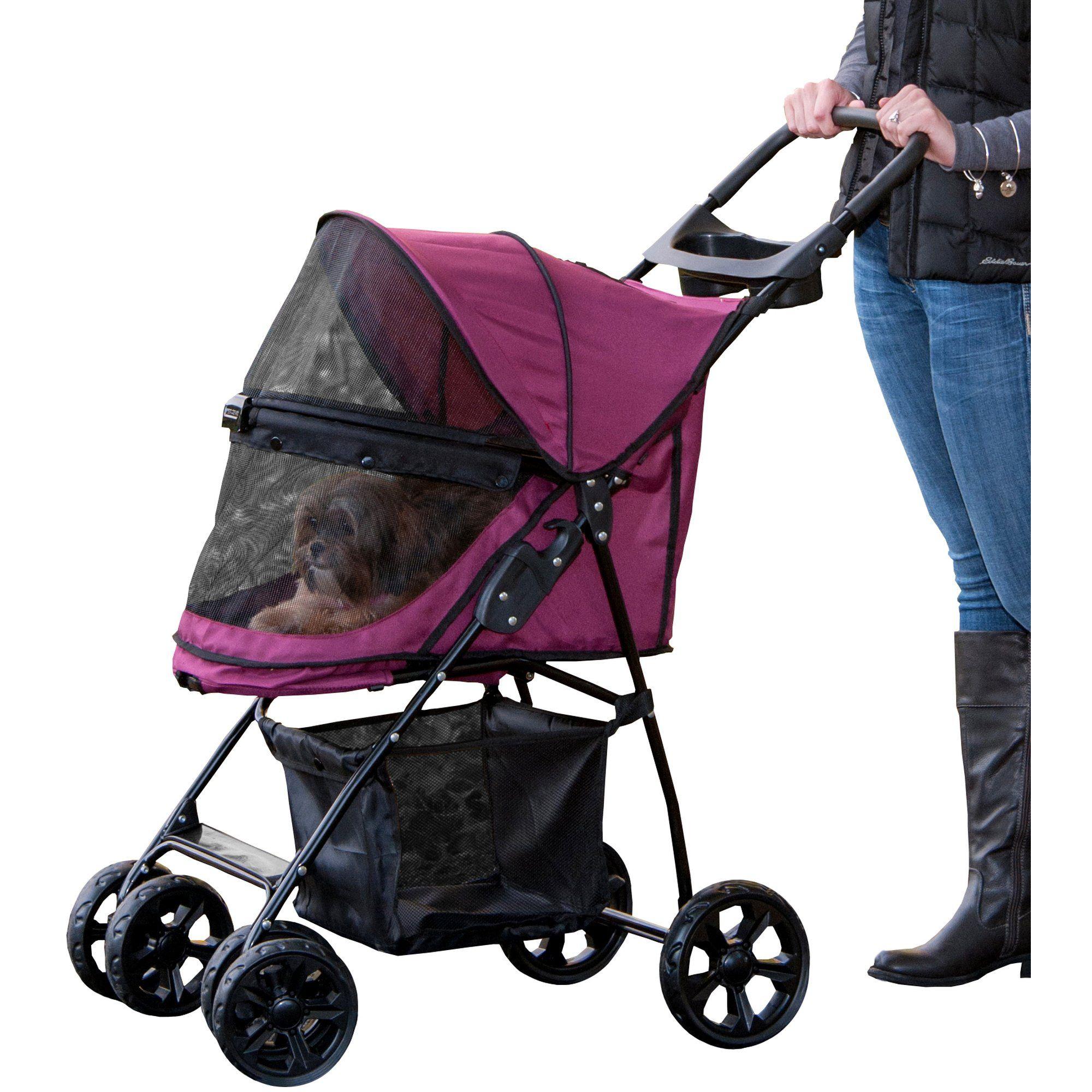 Pet Gear Happy Trails Lite NoZip Pet Stroller in
