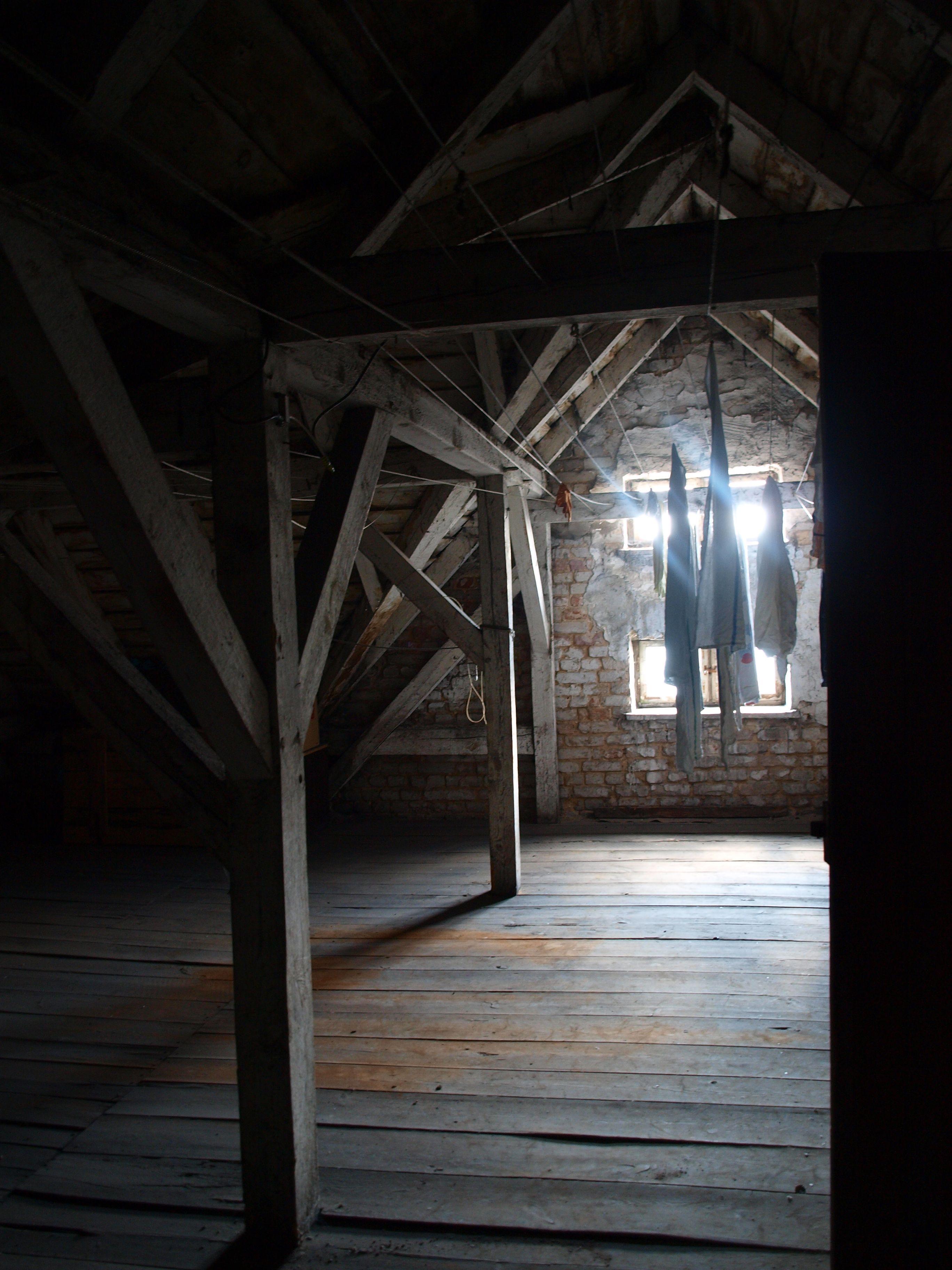 creepy attic  google search  old attics and basements  pinterest . creepy attic  google search