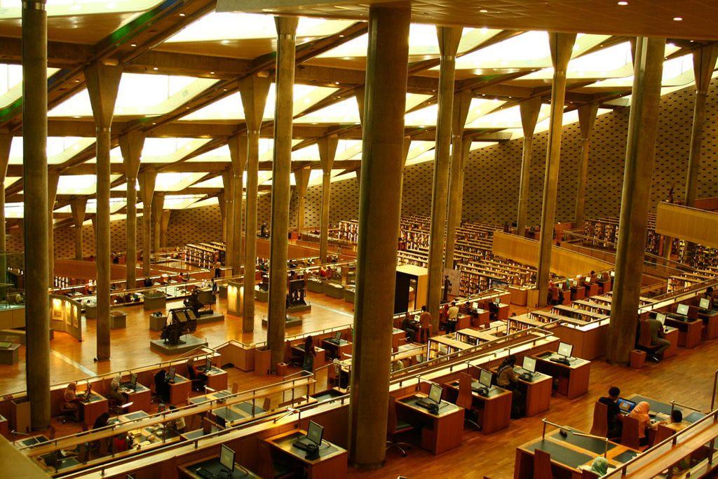 読書の秋 美しすぎて集中できない10の図書館 Curazy 都市デザイン アレクサンドリア アレクサンドリア図書館