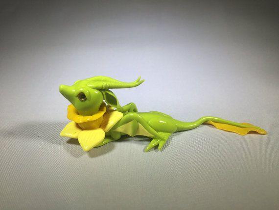 Polymer Clay Dragon - Daffodil Dragon