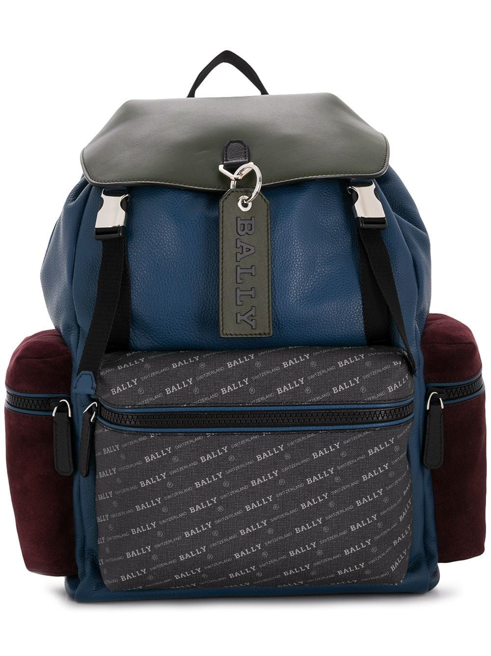 1284c37f0e BALLY BALLY CREW BACKPACK - BLUE.  bally  bags  leather  backpacks ...