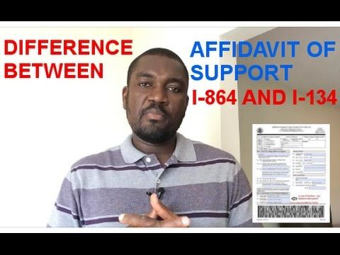 Difference Between Affidavit Of Support I And I  For The