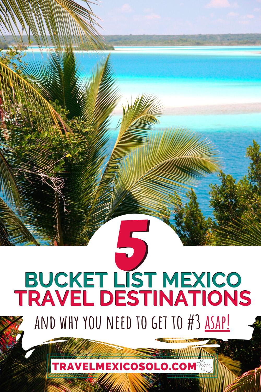 5 Hidden Gem Destinations Of Mexico Travel Travel Mexico Solo Mexico Travel Mexico Travel Destinations Mexico