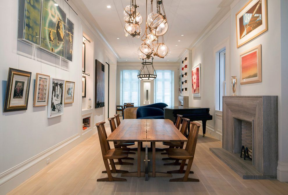 Baby Grand Piano Dining Room Contemporary With Large Room Glass