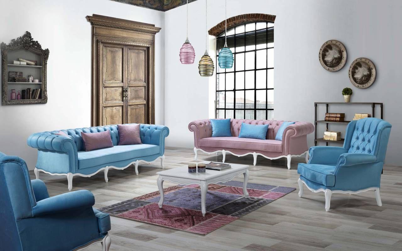 Şipstar Modern Swan Sofa Furniture Set Sofa furniture