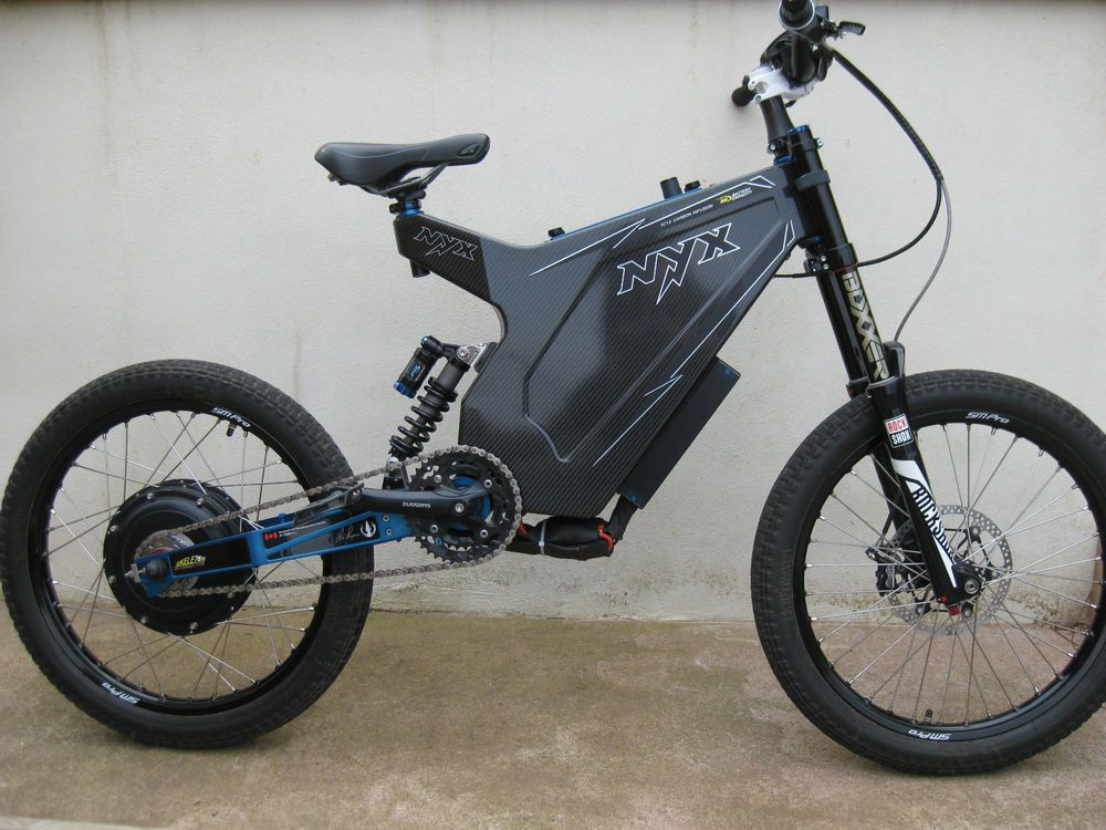 Nyx Hi Power Electric Bike 14000 Watt Electric Bike Electric