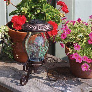Toland Home Garden 240534 Solar Reflector Tabletop Lamp