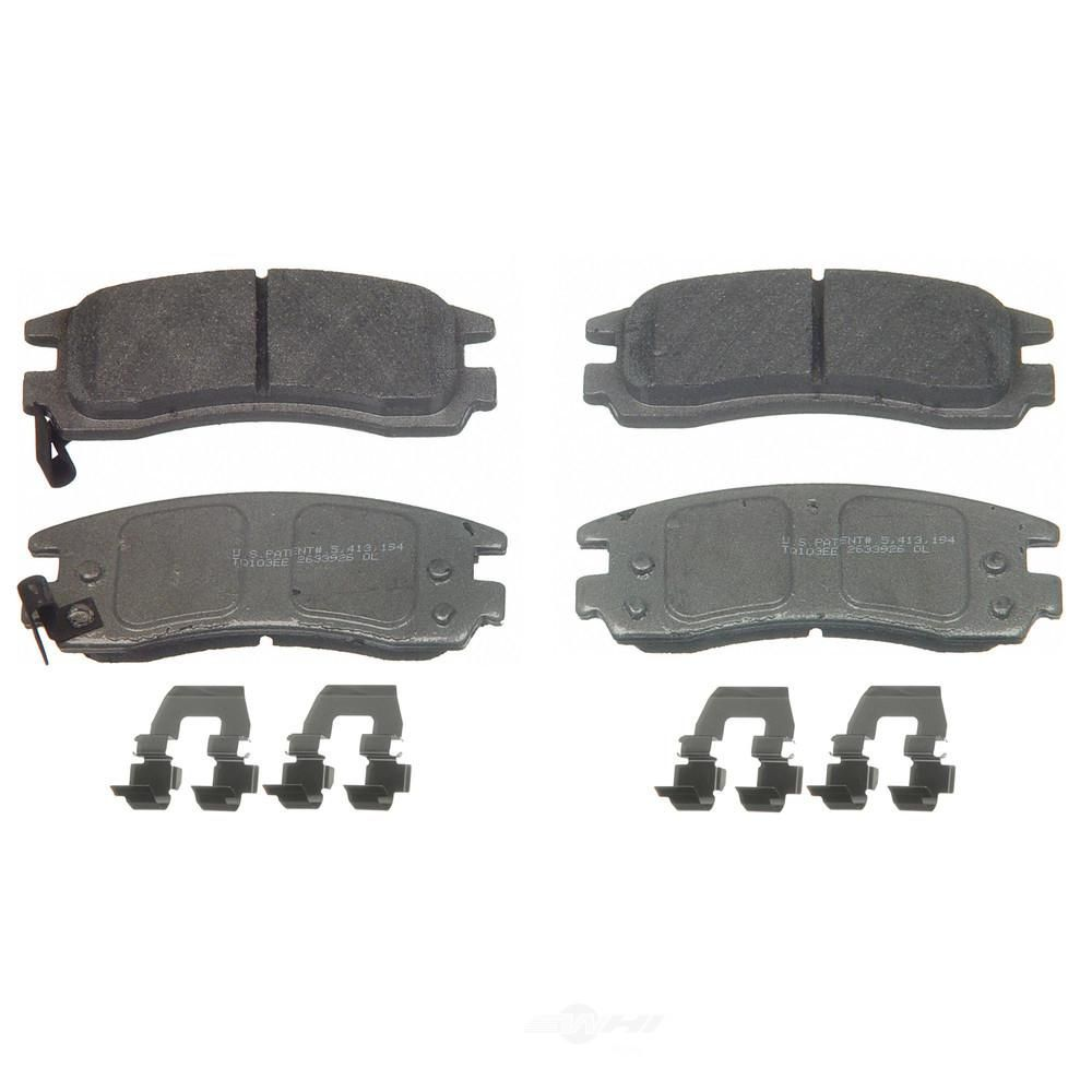 Wagner Brake Disc Brake Pad Set Mx814 Ceramic Brake Pads Brake Pads Ceramic Brakes
