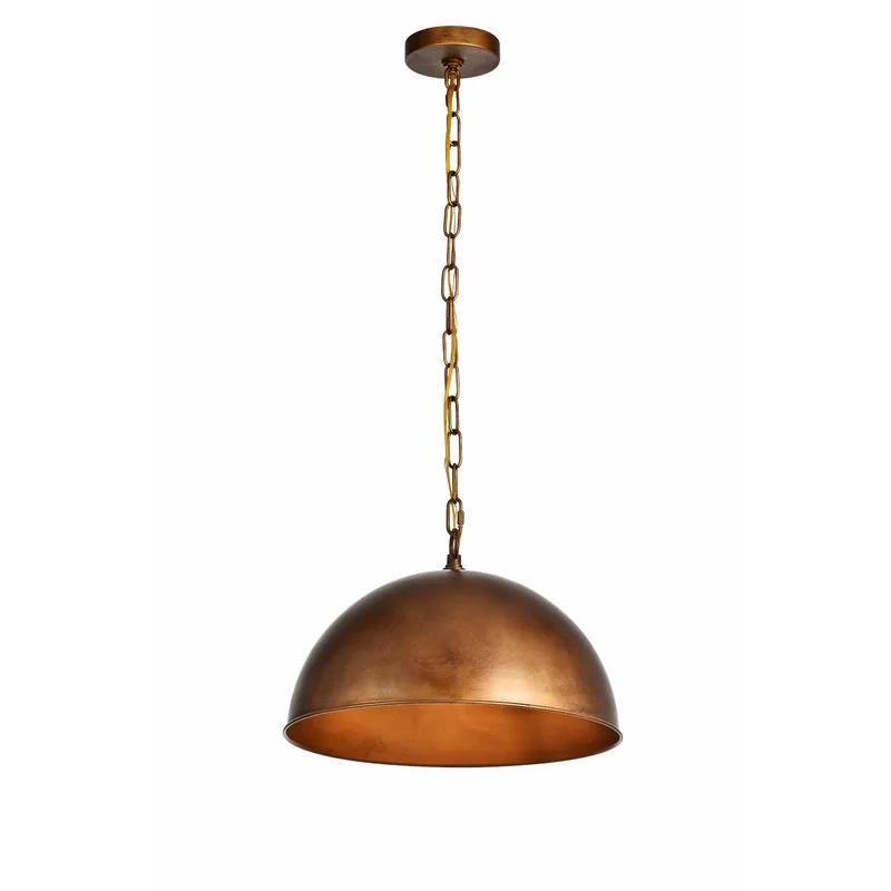 Greyleigh Nederland 1 Light Single Dome Pendant Reviews Wayfair Pendant Lighting Light Pendant