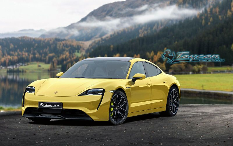Here S What The Production Porsche Taycan Could Look Like Electric Cars Tourism