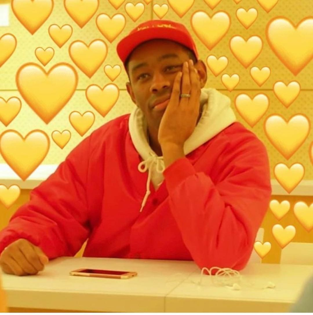 Pin By Alyse On Tyler The Creator Tyler The Creator Love Memes Wholesome Memes