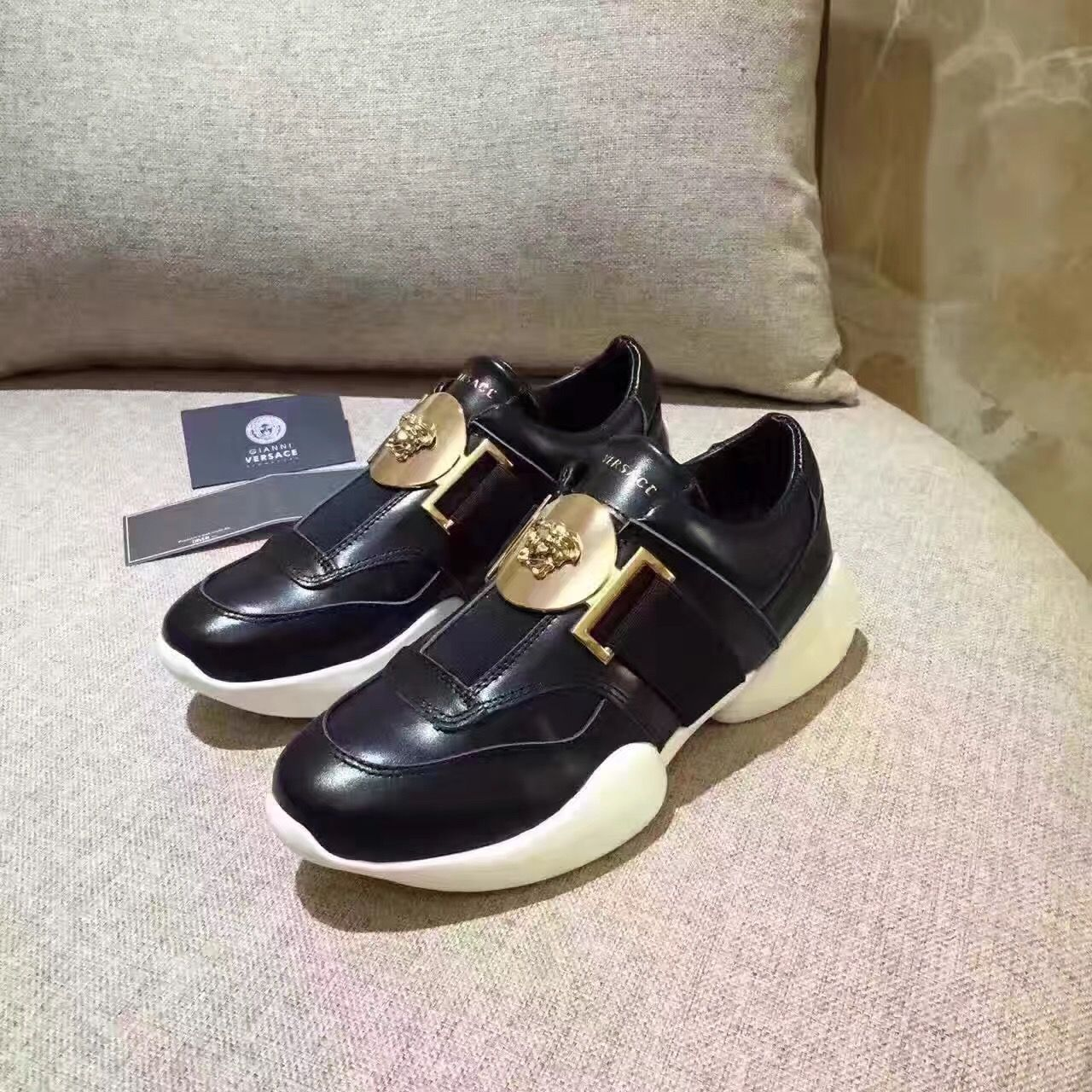 Versace woman casual sport shoes