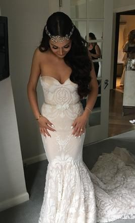 Beautiful Inbal Dror wedding dress currently for sale at off retail