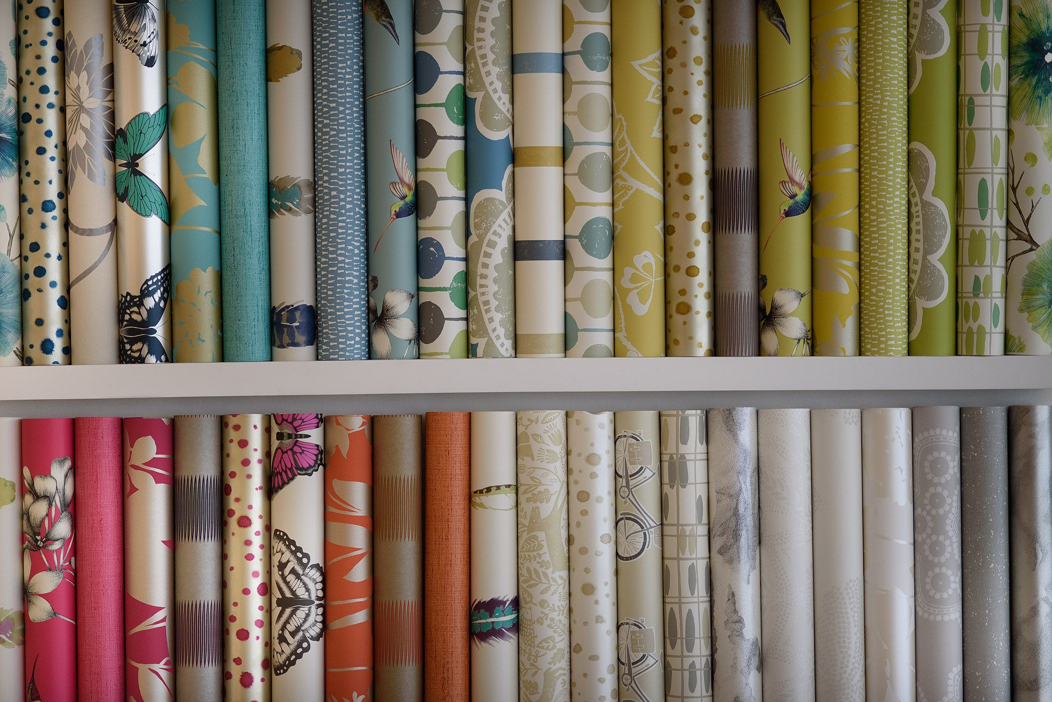 Harlequin Wallpapers Available From Glenwoodinteriors Harlequin Wallpaper Showroom Showroom Display