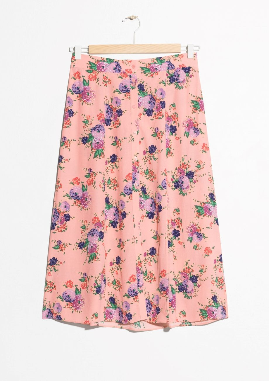 3fbb1d993b & Other Stories | #andotherstories #skirt #floral #midi | ***Fashion ...