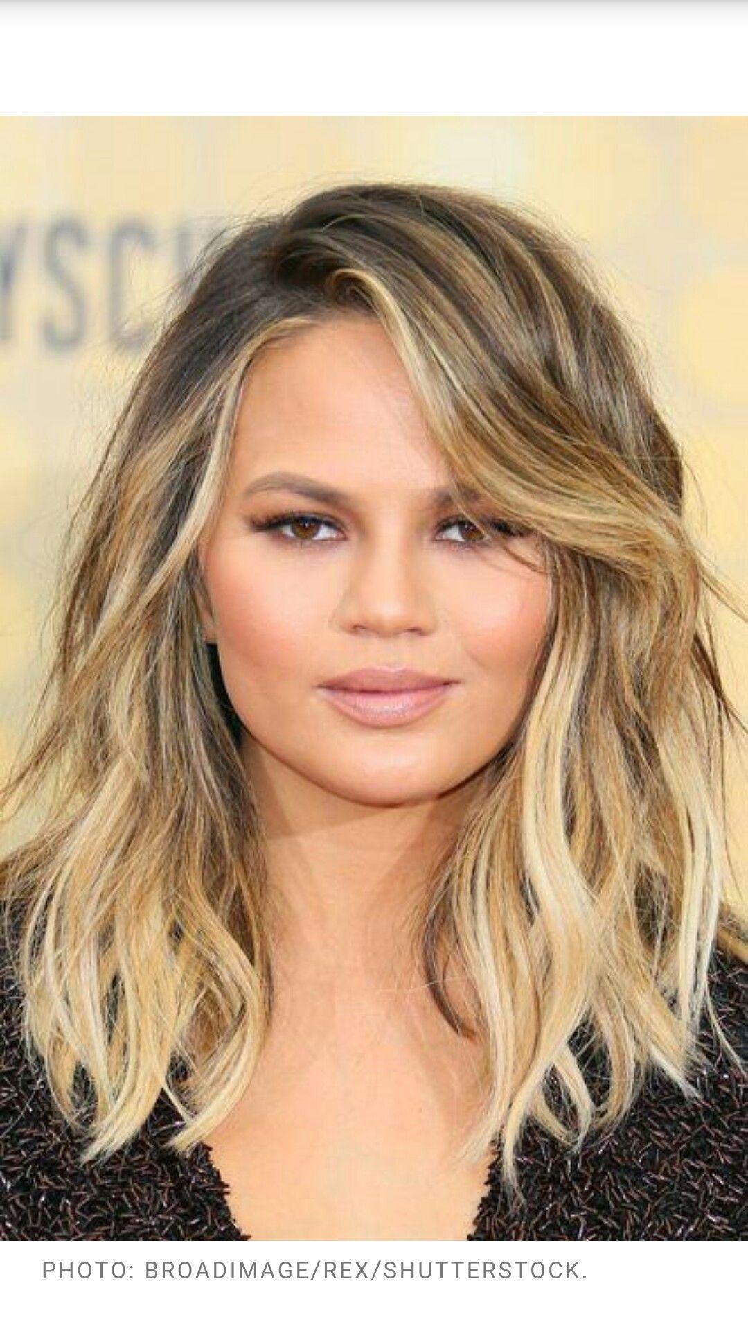 Chrissy Teigen hair   Hair and Beauty   Hair styles, Hair ...