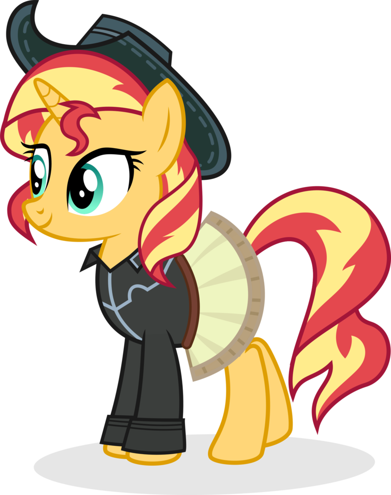 cowgirl shimmer by punzil504 sunset shimmer pinterest