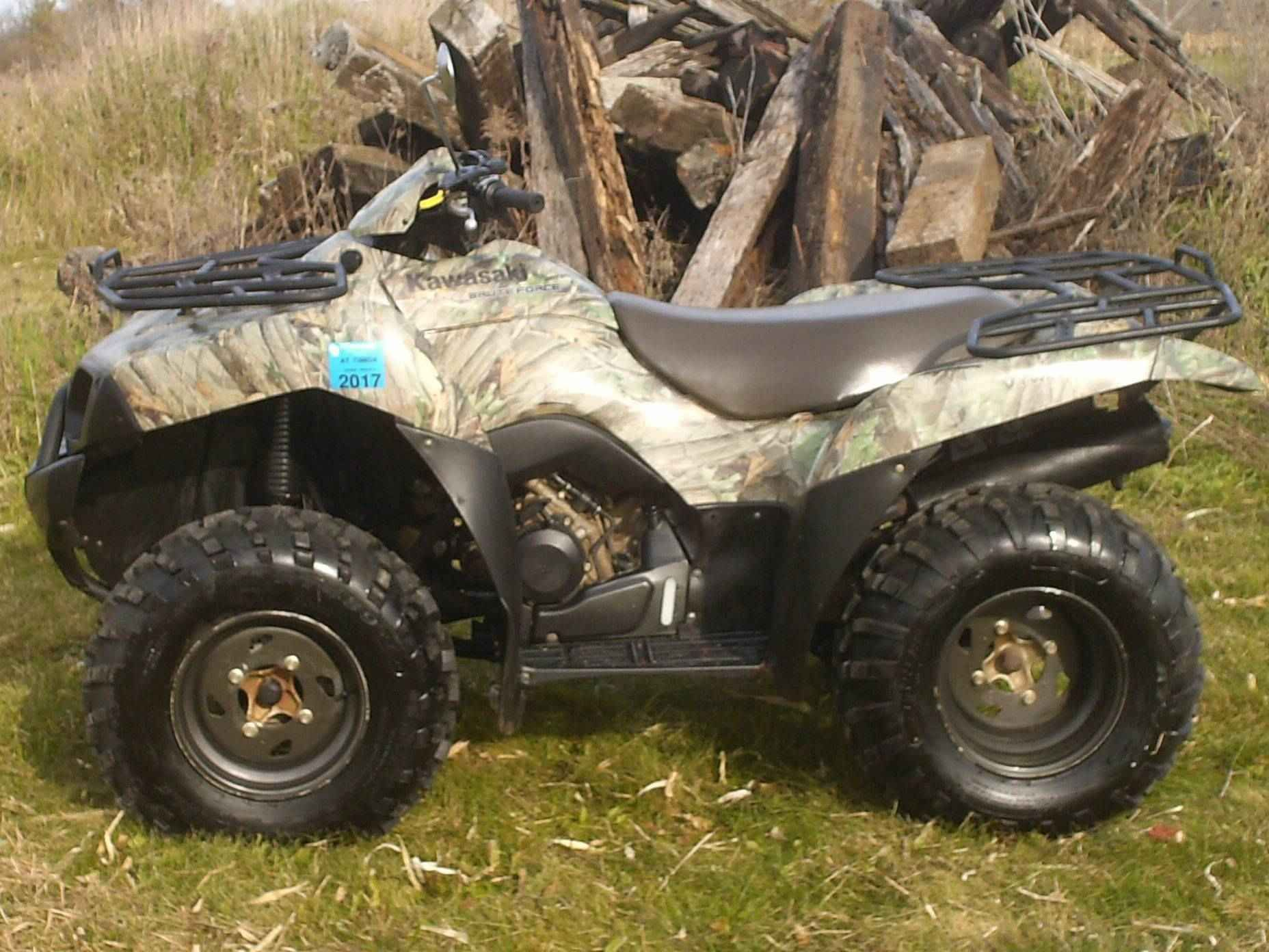 Used 2007 Kawasaki Brute Force 650 4x4 Atvs For Sale In Wisconsin