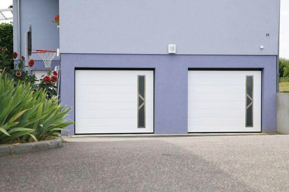 Porte de garage design inox moos j ma porte de garage garage design garage doors et garage - Porte de garage design ...