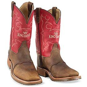 af60e69159a King Ranch - MEN'S RED TOP BOOTS | King Ranch Cowboy Boots | Mens ...