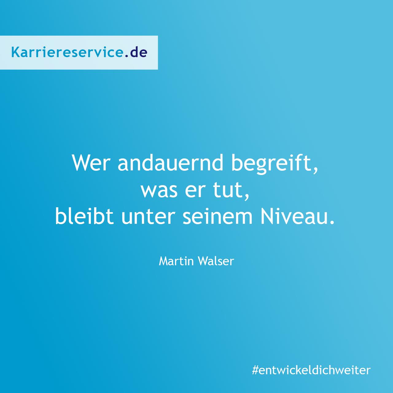 Zitat über neue Herausforderungen. Karriereservice.de