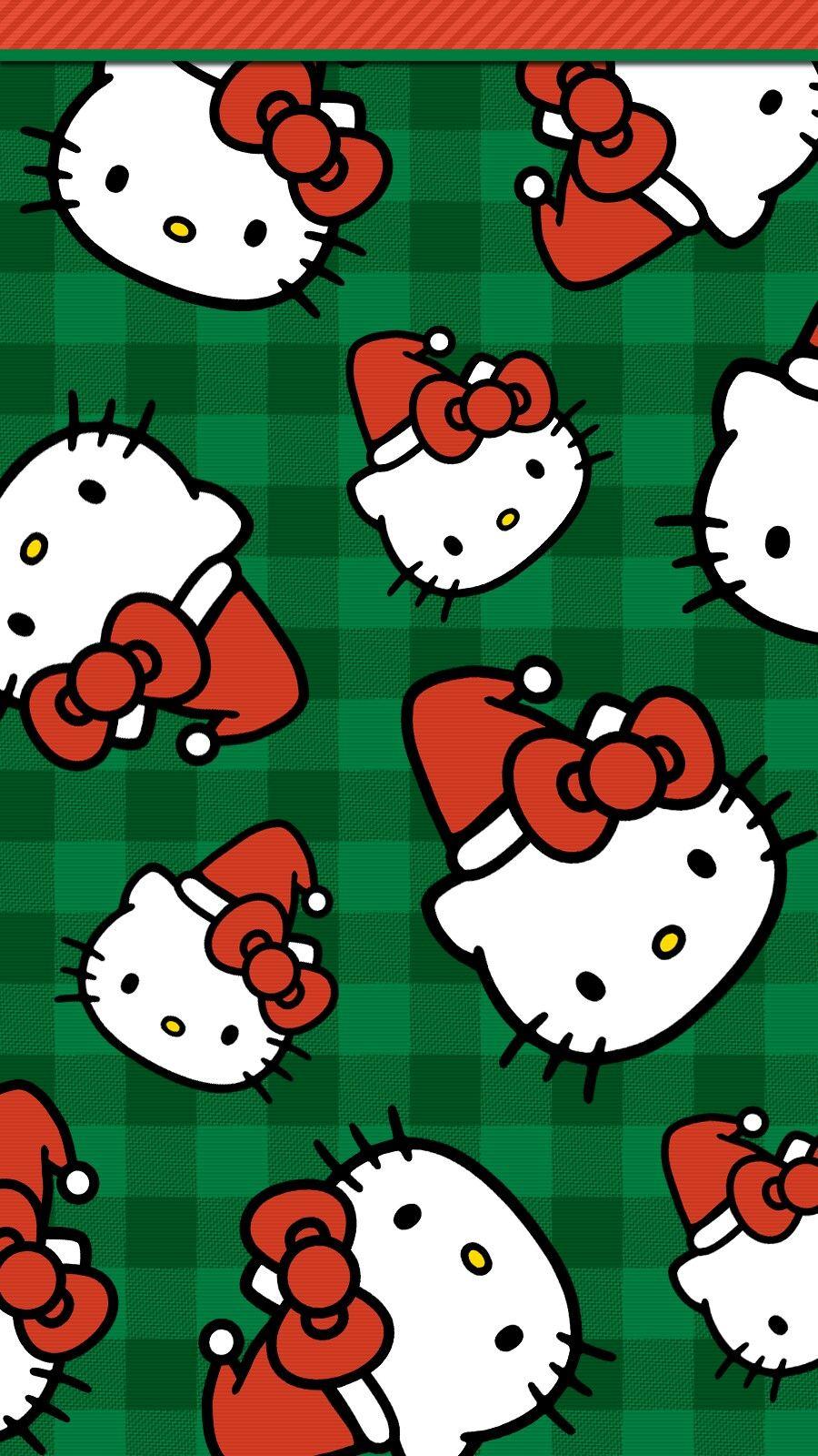 Digitalcutewalls Hello Kitty Christmas Hello Kitty Backgrounds Hello Kitty Wallpaper