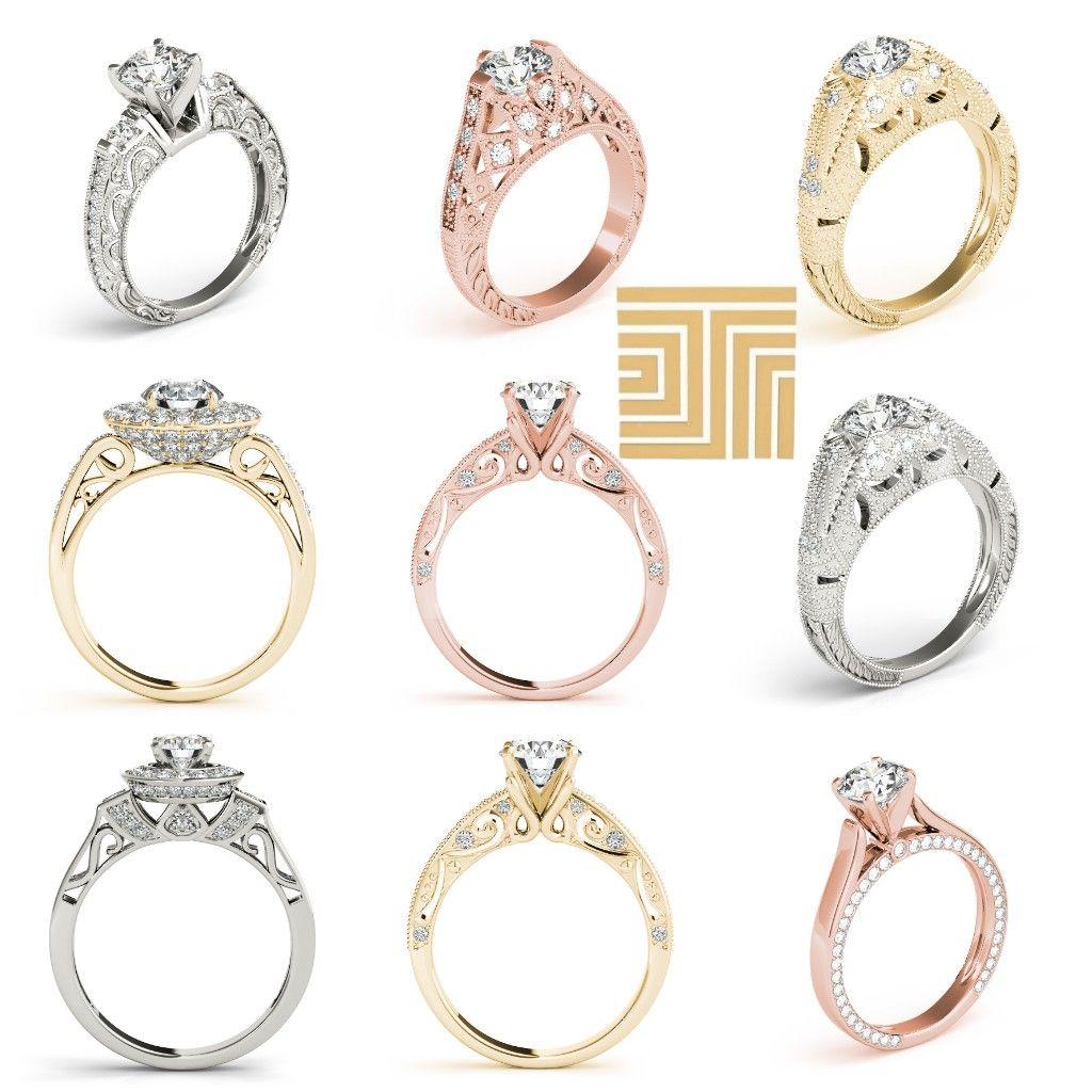 اجمل خواتم الماس 2019 Engagement Rings Wedding Rings Photo And Video