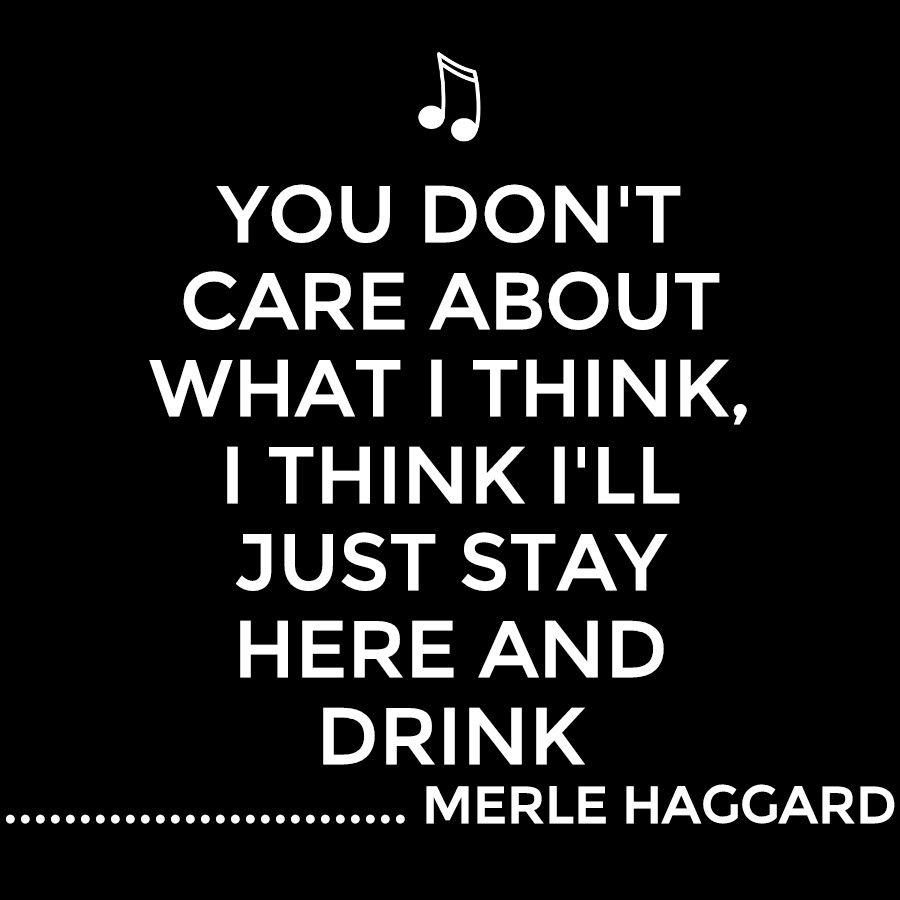 Merle Haggard Country music lyrics quotes, Country