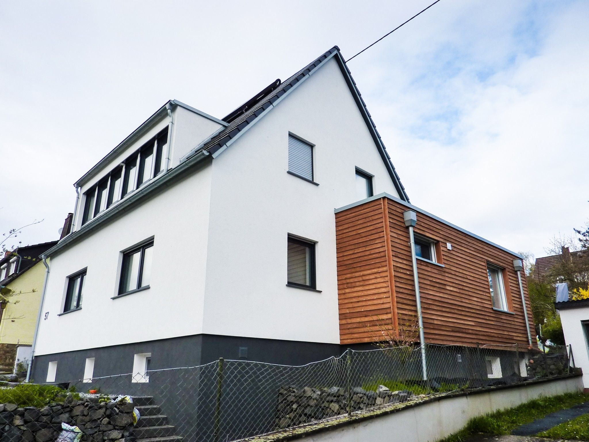 Siedlungshaus Modernisieren modernisierung eines siedlungshauses in wiesbaden | anbau holz