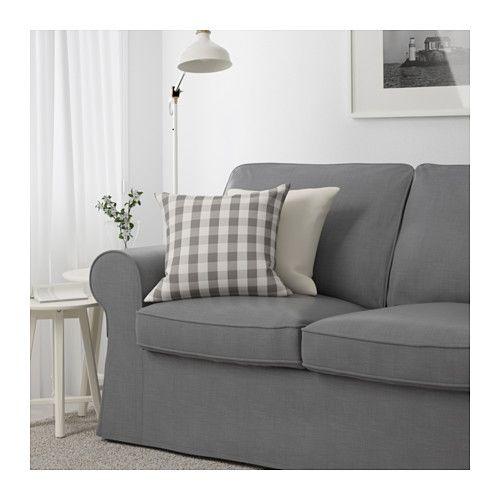 EKTORP Loveseat, Nordvalla dark gray Apartments, Basements and Nest - ikea ektorp gra