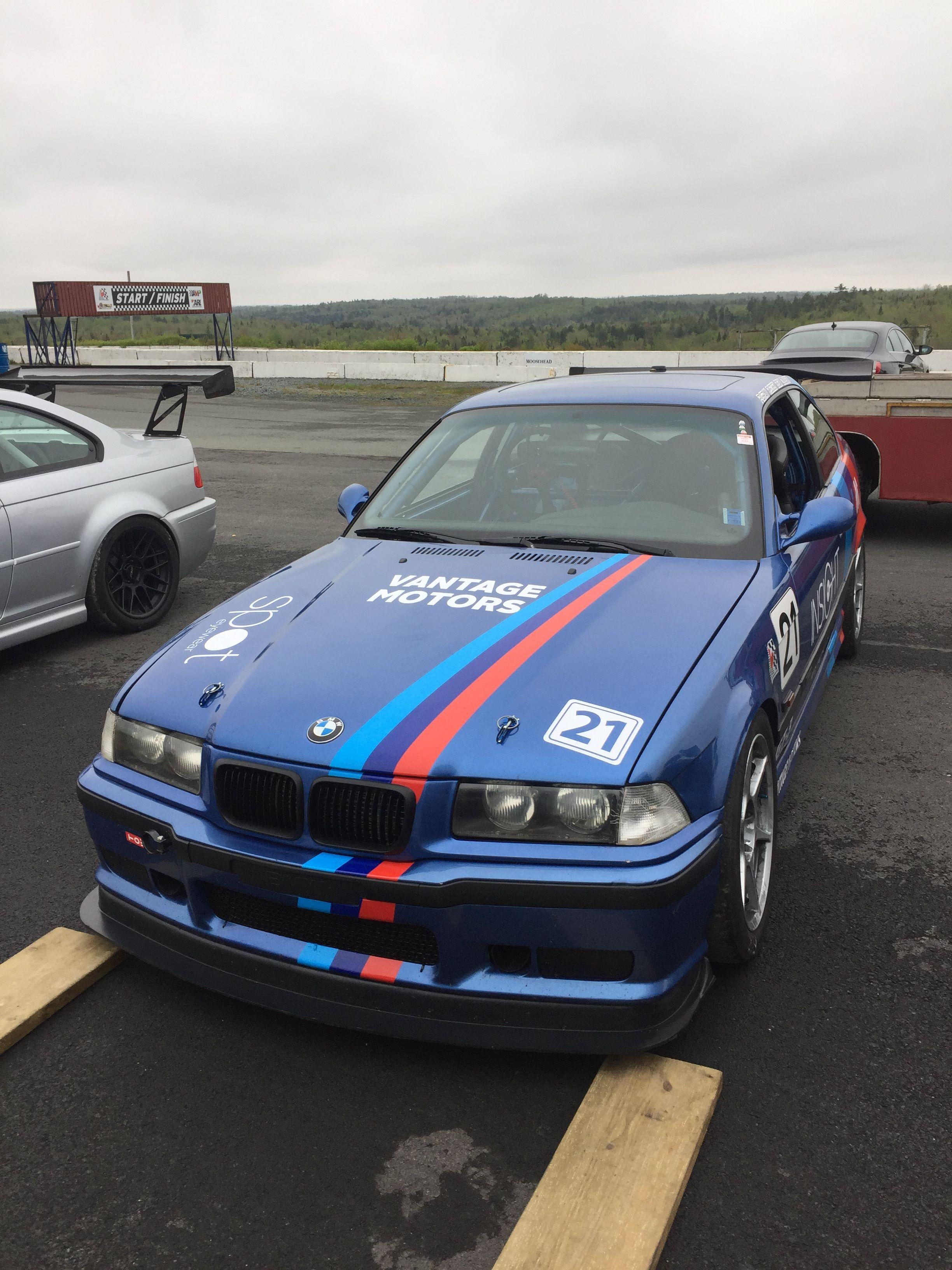 Vantage Motorsports E36 M3 Race Car Rocket Racing Motorsport