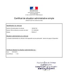 Le Certificat De Situation Administrative Ou Certificat De