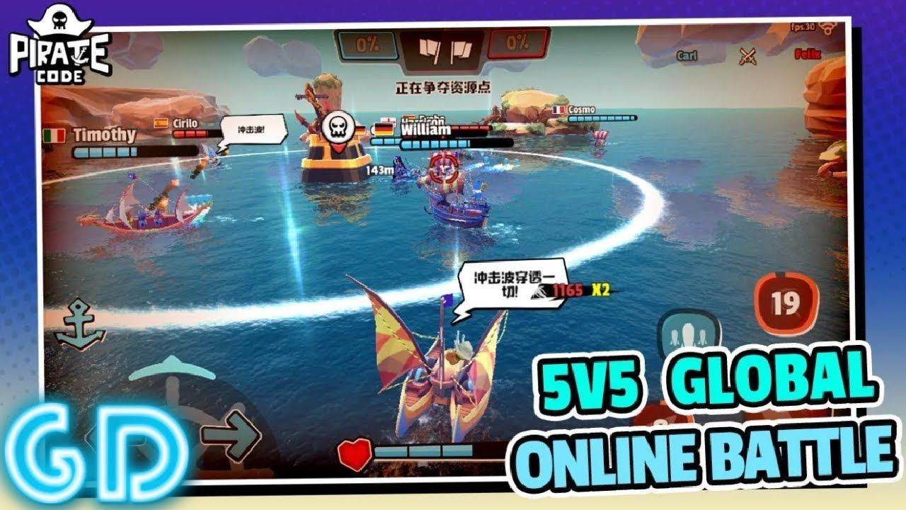 Pirate Code PVP Battles at Sea Gameplay Android Pirate