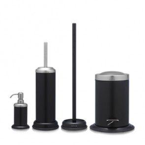 Badkamer accessoires set Sealskin zwart   Musthaves verzendt gratis ...
