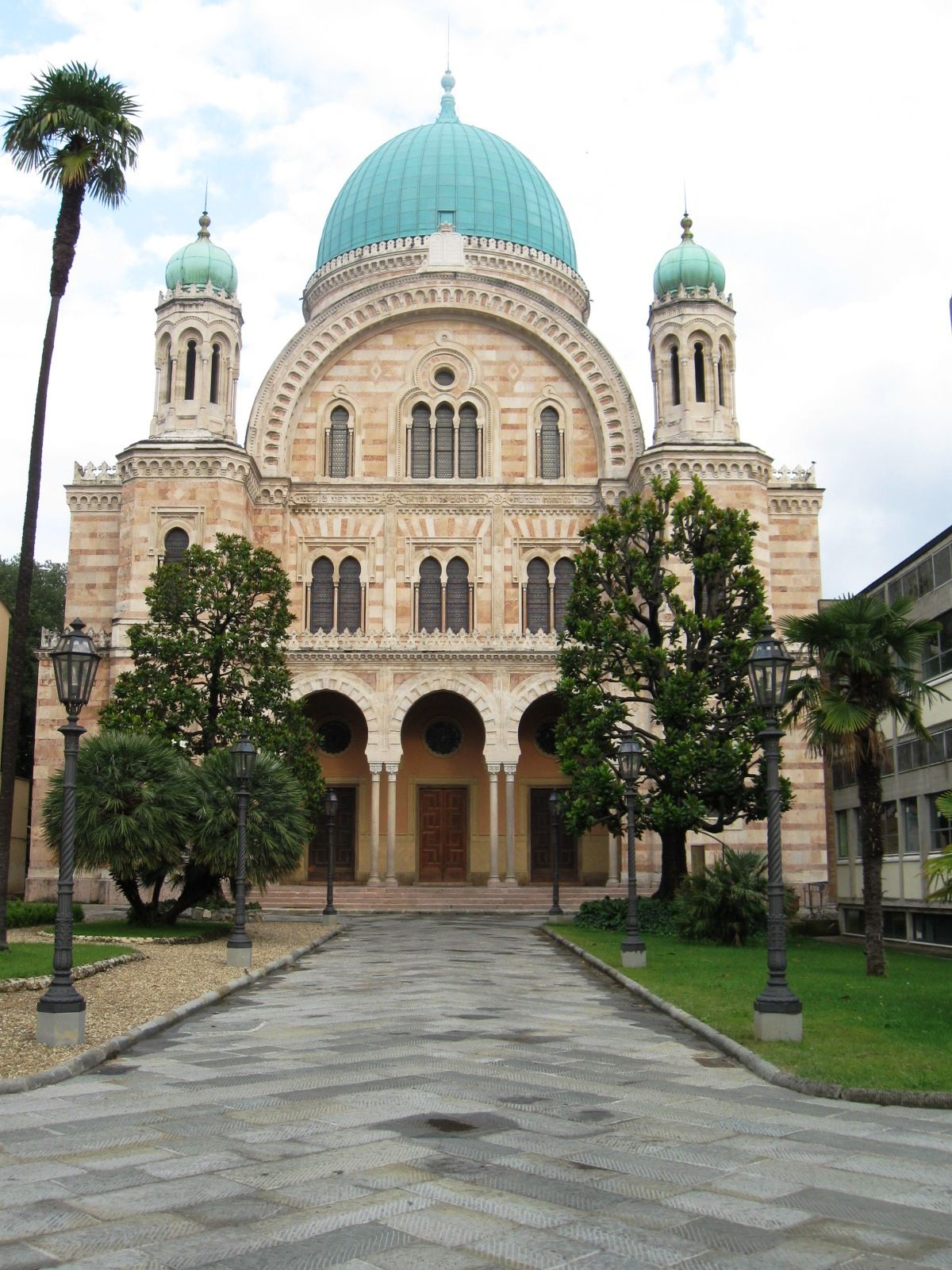 Italian Florence: Great Synagogue Of Florence Or Tempio Maggiore, Florence