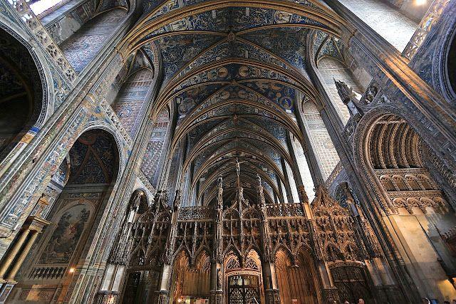 Diafragma 51: Interior Catedral de Albi