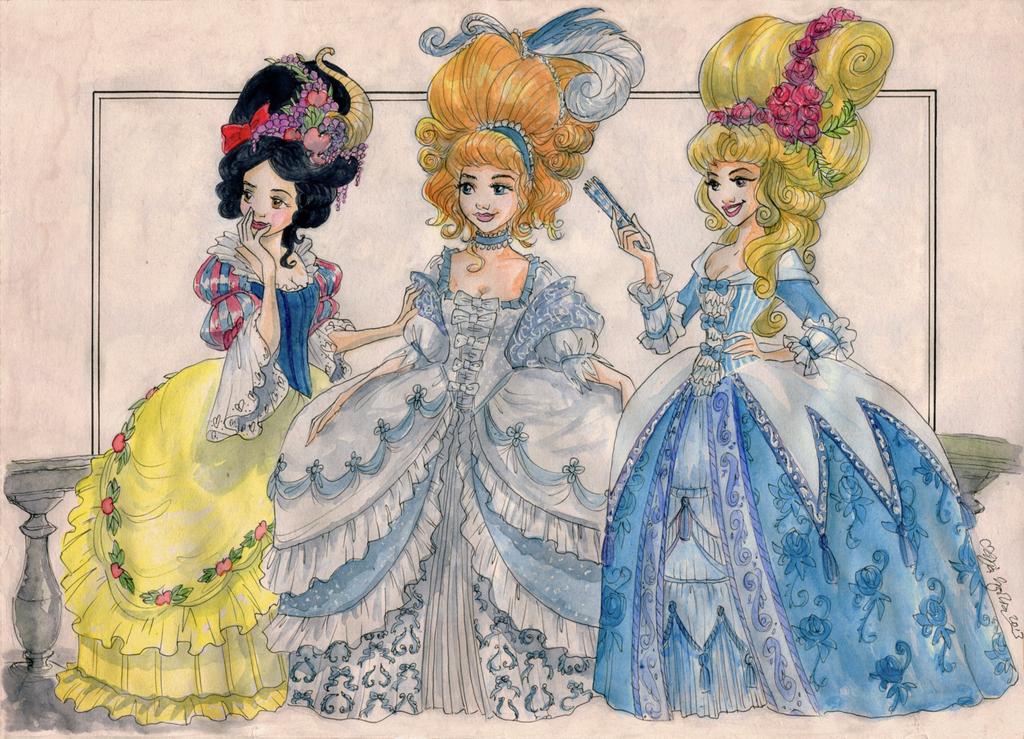 Rococo recherche google doodling doodles tim e dessin princesse et princesse disney - Dessin anime cendrillon disney ...