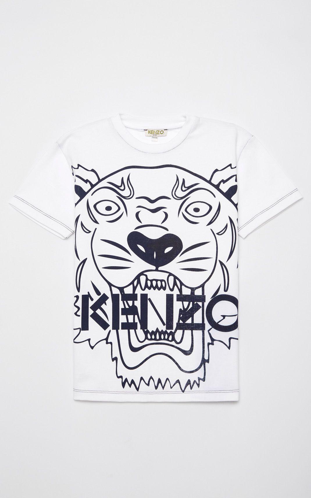 a623ff237 NAVY BLUE Tiger t-shirt for men KENZO   Kenzo Summer 18   Pinterest ...