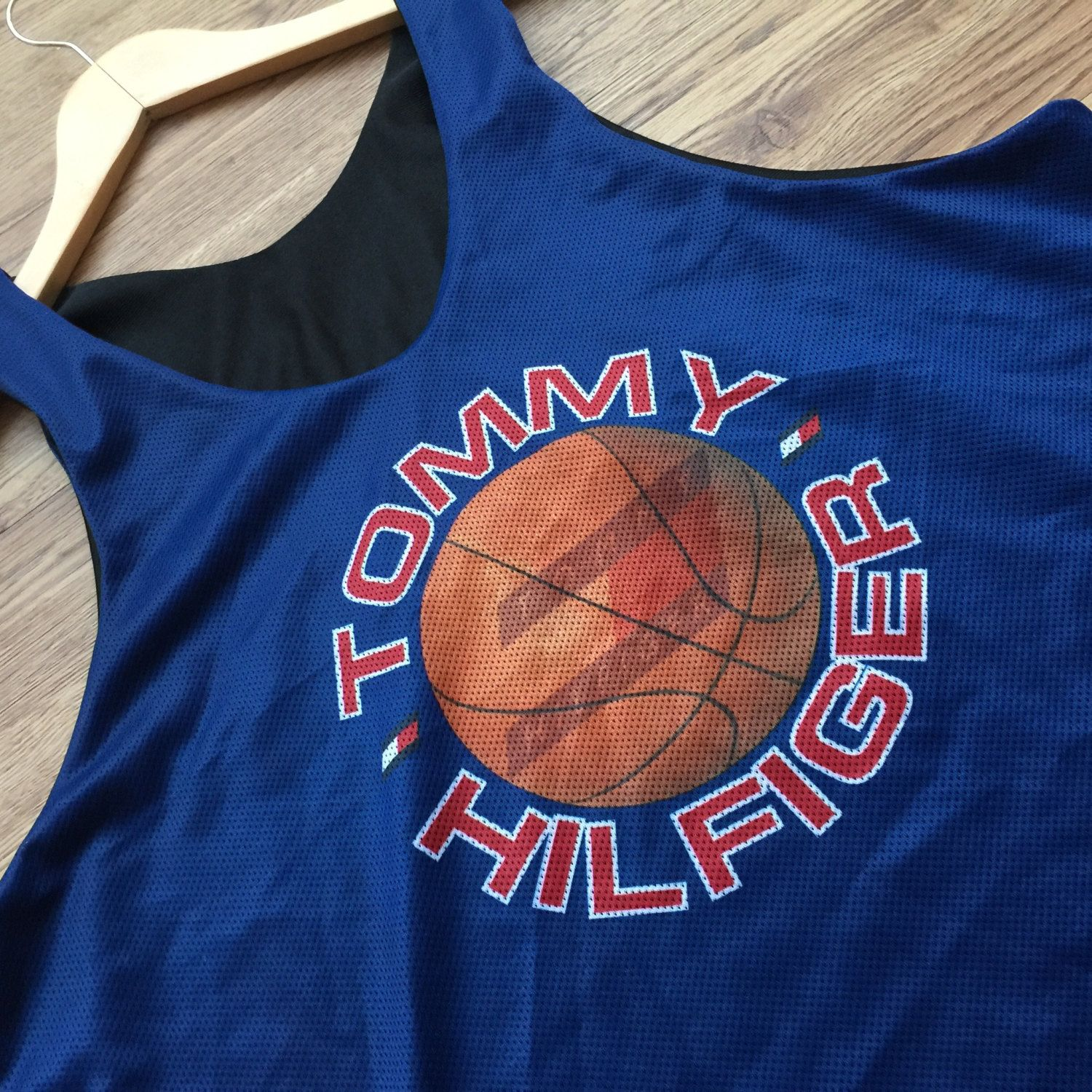 Rare Vintage Tommy Hilfiger Reversible Basketball Jersey by VNTGvault on  Etsy fafe4cae3