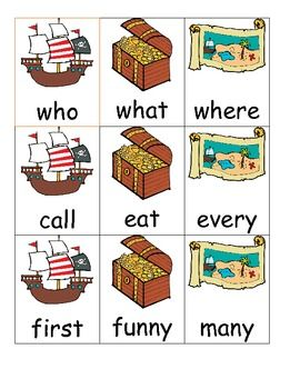 FREE These sight words cards can be cut and placed on a notebook ring to help students develop fluency with sight words. These can be placed in a center...