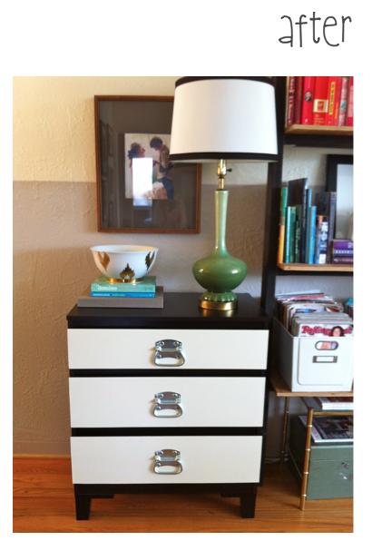 before and after ikea hack kullen dresser slumber pinterest meubles. Black Bedroom Furniture Sets. Home Design Ideas
