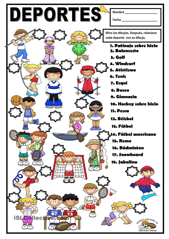 Deportes Trabajo Educacion Fisica Educacion Fisica Preescolar Educacion Fisica En Primaria