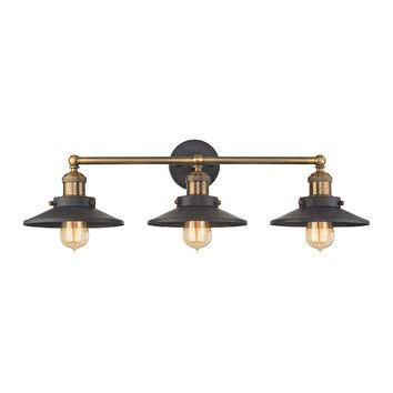 Spectre Light Vanity Light Vanities Lights And House - Brass bathroom vanity light fixtures
