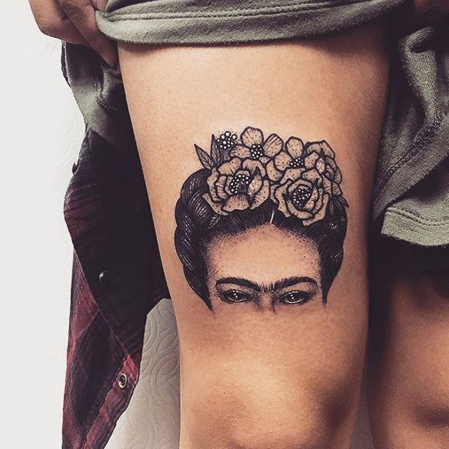 Arteenlapiel Fridatattoo Friducha Simplicity Fridakahlo Fabulous Work By Por Goldlagrimas Tattoos Ink Tattoo Frida Tattoo
